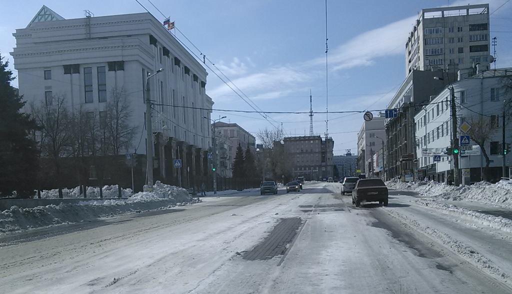 Трамваи в Челябинске не ходят